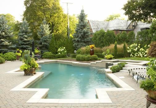 In-Ground Luxury Pools Atlanta